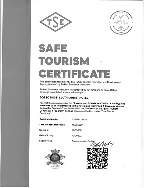 Secure Tourism Sertificate